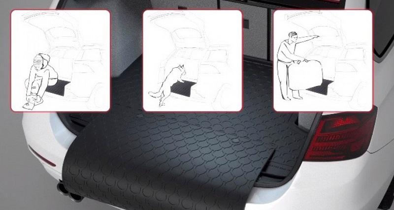 Резиновые ковровые покрытия для автомобильных загрузок